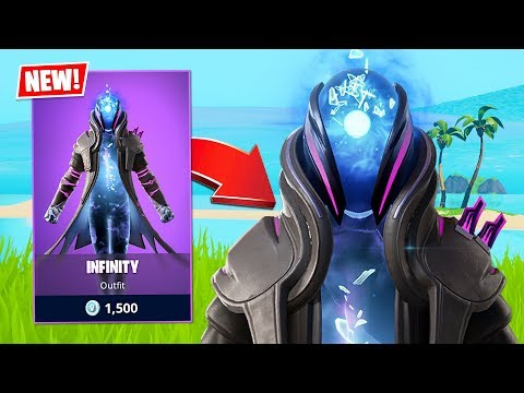 New Infinity Skin + $10,000,000 Tournament! (Fortnite Battle Royale)