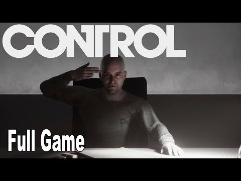 Control - Full Game Walkthrough [HD 1080P]