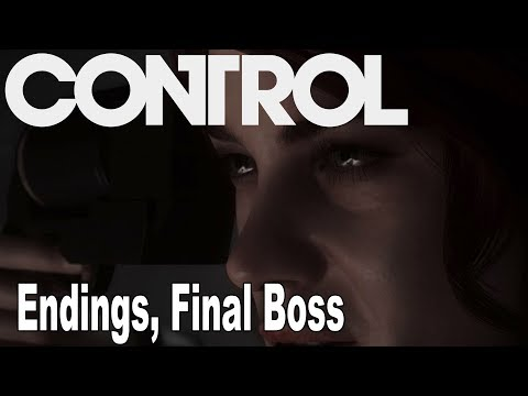 Control - All Endings and Final Boss [HD 1080P]