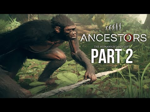 ANCESTORS THE HUMANKIND ODYSSEY Gameplay Walkthrough Part 2 - Conquering the Swamps
