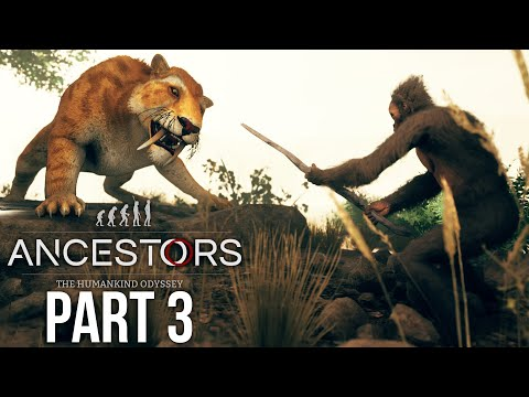 ANCESTORS THE HUMANKIND ODYSSEY Gameplay Walkthrough Part 3 - CRAFTING