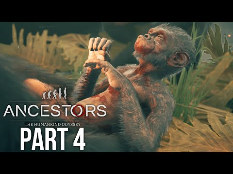 ANCESTORS THE HUMANKIND ODYSSEY Gameplay Walkthrough Part 4 - BIRTH & HUNTING
