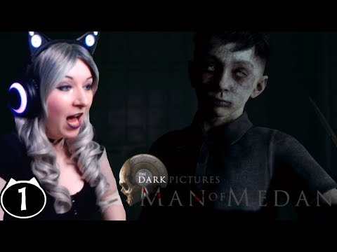 This is SO SCARY! - Man Of Medan Walkthrough Reaction Gameplay Part 1