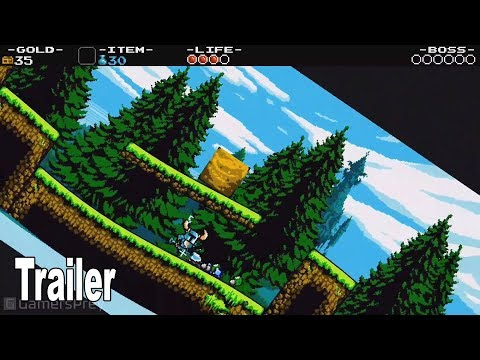 Shovel Knight: Treasure Trove - New Features Trailer [HD 1080P]