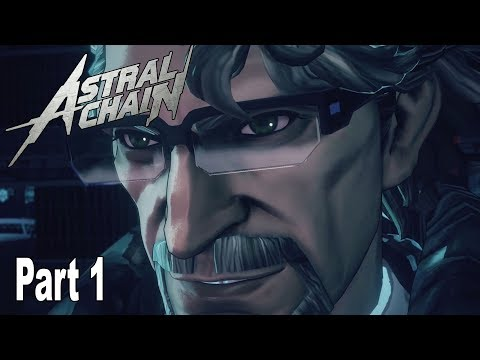Astral Chain - Walkthrough Part 1 No Commentary (File 1) [HD 1080P]