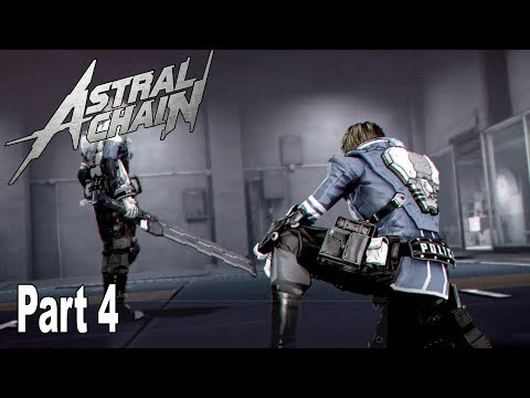 Astral Chain - Walkthrough Part 4 No Commentary (File 4) [HD 1080P]