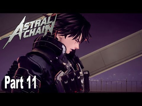 Astral Chain - Walkthrough Part 11 No Commentary (File 11) [HD 1080P]