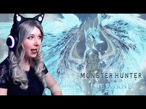 So Much ICE SPAM! - Velkhana FIRST ATTEMPT HUNT - Monster Hunter World: Iceborne DEMO