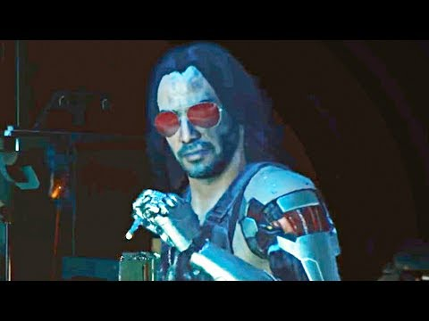 CYBERPUNK 2077 - NEW Gameplay Demo (KEANU REEVES)