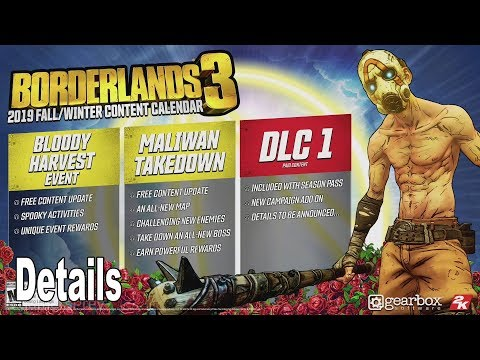 Borderlands 3 - DLC Details [HD 1080P]