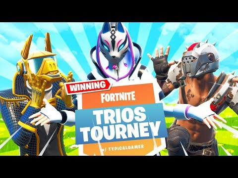 TURBO BUILDING IS BACK!! Trios Cash Cup Tournament! (Fortnite Battle Royale)