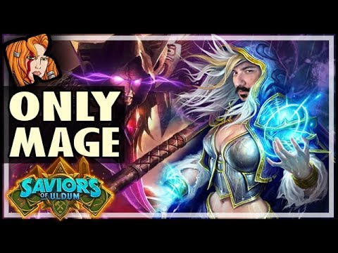 HS HAS ONLY 1 CLASS AND IT'S MAGE! - Saviors of Uldum Hearthstone