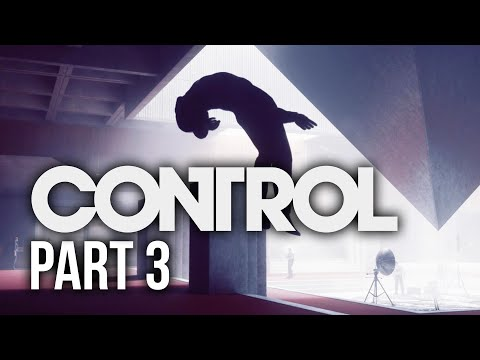 CONTROL RTX Gameplay Walkthrough Part 3 - SAVING THE POWER PLANT
