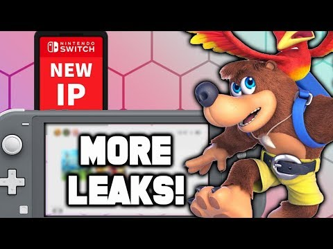 Nintendo Leaks WON'T STOP! Smash Bros SNK UPDATE! New IP Switch Game! Banjo Kazooie Release Date!