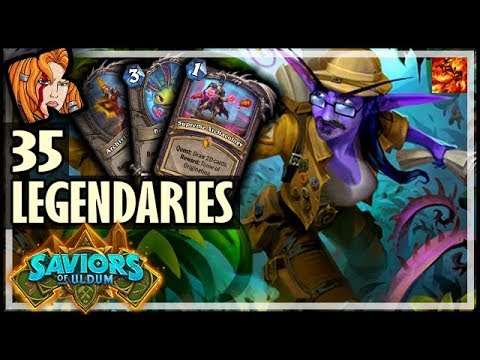 ULDUM'S 35 LEGENDARY DECKS! - Saviors of Uldum Hearthstone