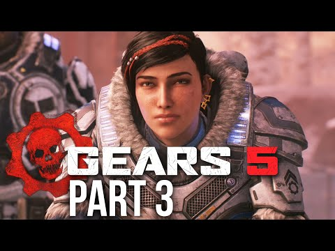 GEARS 5 Campaign Gameplay Walkthrough Part 3 - UNCLE (Gears of War 5) ACT 2