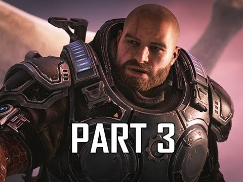 GEARS 5 Gameplay Walkthrough Part 3 - Outsider Camp (GOW5 Let's Play)