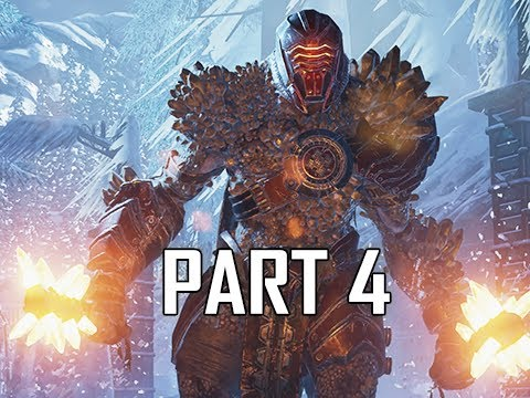 GEARS 5 Gameplay Walkthrough Part 4 - Warden (GOW5 Let's Play)