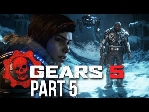 GEARS 5 Campaign Gameplay Walkthrough Part 5 - COMMS TOWERS (Gears of War 5) ACT 2