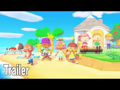Animal Crossing: New Horizons - Island Life Trailer [HD 1080P]
