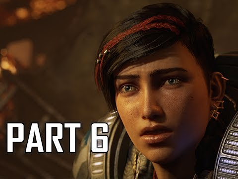 GEARS 5 Gameplay Walkthrough Part 6 - LENA (GOW5 Let's Play)