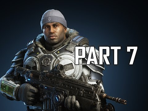 GEARS 5 Gameplay Walkthrough Part 7 - MINES (GOW5 Let's Play)