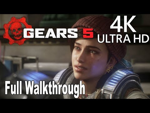 Gears 5 - Full Gameplay Walkthrough in 4K