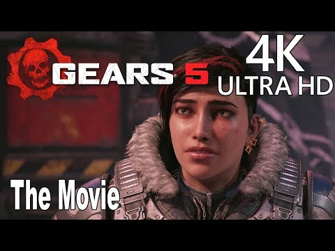 Gears 5 - Game Movie All Cutscenes [4K 2160P/60FPS]