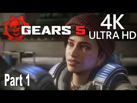 Gears 5 - Gameplay Walkthrough Part 1 No Commentary [4K 2160P/60FPS]
