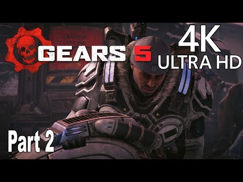 Gears 5 - Gameplay Walkthrough Part 2 No Commentary [4K 2160P/60FPS]