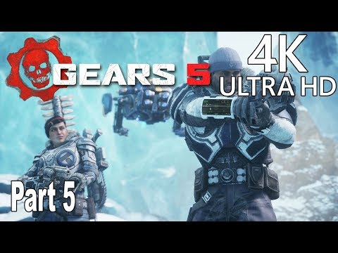 Gears 5 - Gameplay Walkthrough Part 5 No Commentary [4K 2160P/60FPS]