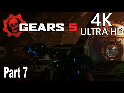 Gears 5 - Gameplay Walkthrough Part 7 No Commentary [4K 2160P/60FPS]