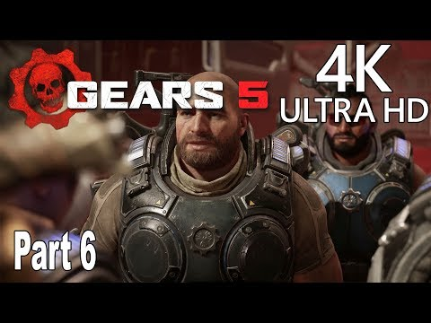 Gears 5 - Gameplay Walkthrough Part 6 No Commentary [4K 2160P/60FPS]