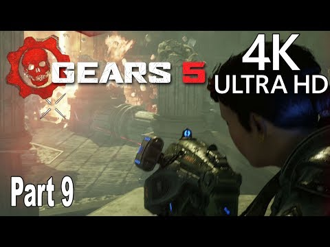 Gears 5 - Gameplay Walkthrough Part 9 No Commentary [4K 2160P/60FPS]
