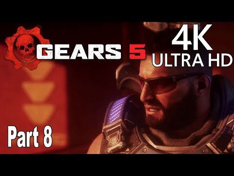 Gears 5 - Gameplay Walkthrough Part 8 No Commentary [4K 2160P/60FPS]