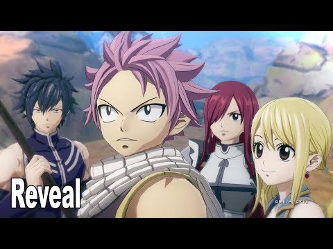 Fairy Tail - Announcement Trailer [HD 1080P]