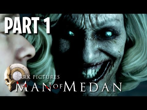 Man of Medan Co-Op Scary Game w/ My Girlfriend!! (Man of Medan, Part 1)
