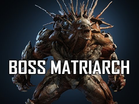 BOSS MATRIARCH - GEARS 5 Gameplay Walkthrough Part 10 (GOW5 Let's Play)