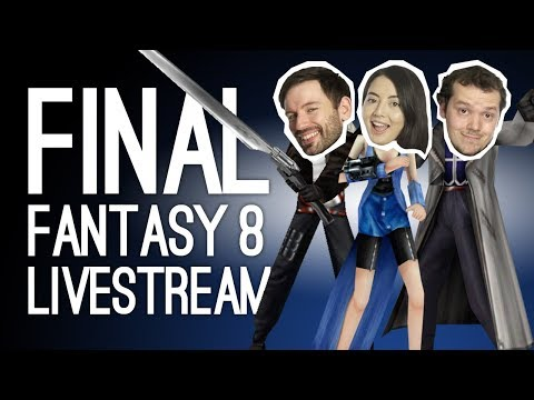 LIVE Final Fantasy VIII Remastered Stream! Outside Xbox Plays Jane's BFF (Best Final Fantasy)