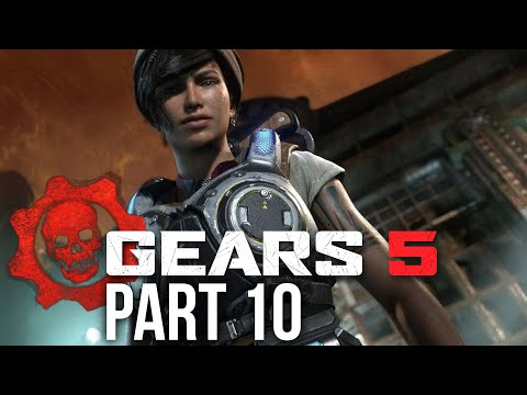 GEARS 5 Campaign Gameplay Walkthrough Part 10 - BEACON (Gears of War 5) ACT 3
