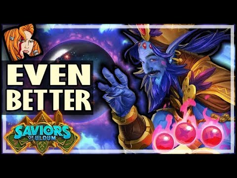 I MADE IT EVEN BETTER! 19 LEGENDARY DECK! - Saviors of Uldum Hearthstone