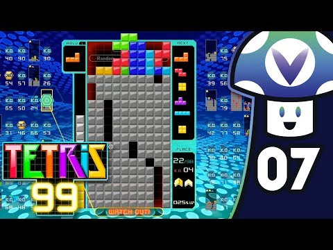 [Vinesauce] Vinny - Tetris 99: 2.0 Update (PART 7)