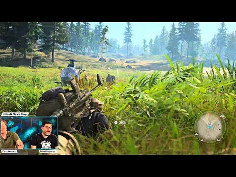 GHOST RECON BREAKPOINT - NEW Gameplay Demo (Beta) PS4 PC Xbox One