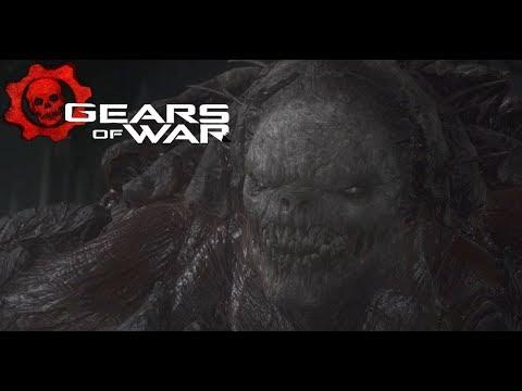 Delta Squad Takes Down a Brumak - Gears of War (#GearsofWar