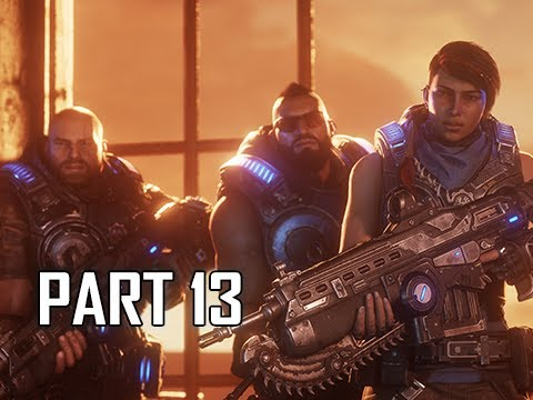 GEARS 5 Gameplay Walkthrough Part 13 - Rocket Man (GOW5 Let's Play)