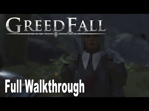 GreedFall - Full Gameplay Waklthrough [HD 1080P]