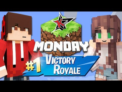 MINECRAFT MONDAY w/ MY GIRLFRIEND!!