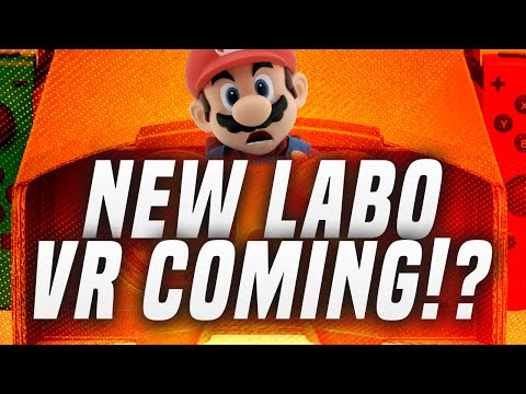 New Nintendo Switch Labo VR Headset V2 Coming!?