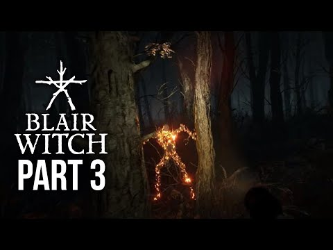 Blair Witch Gameplay Walkthrough Part 3 - IS ELLIS THE BAD GUY ???