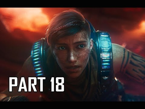 GEARS 5 Gameplay Walkthrough Part 18 - Kraken (GOW5 Let's Play)